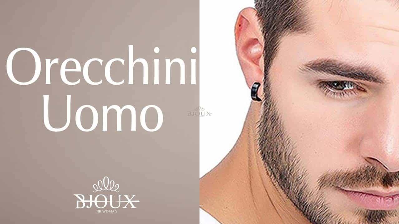 orecchini da uomo